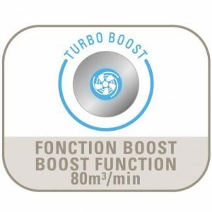 Rowenta VU5540 Turbo Boost für schnelle Umwälzung der Luft